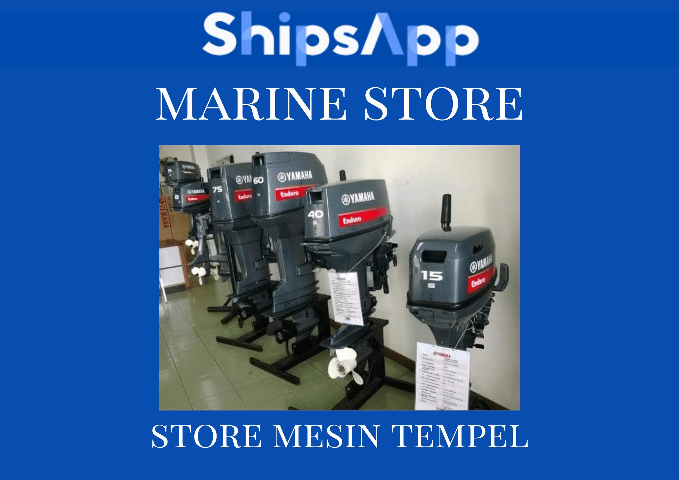Marine Store Mesin Tempel