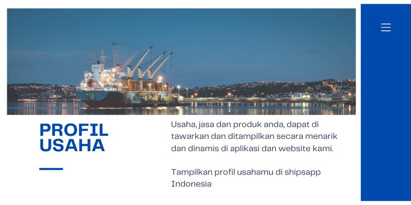 Daftarkan usaha maritimu di Shipsapp