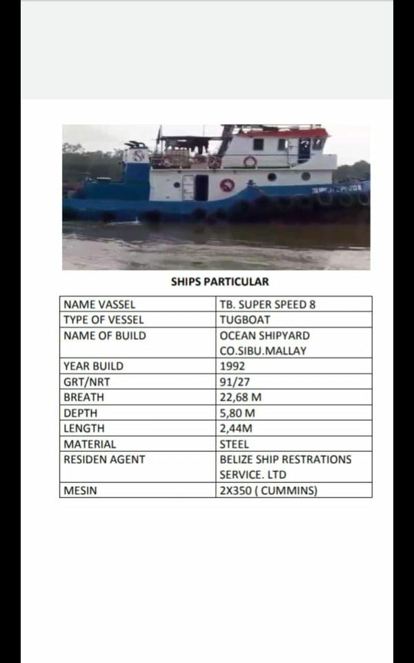 Tug Boat super speed 8