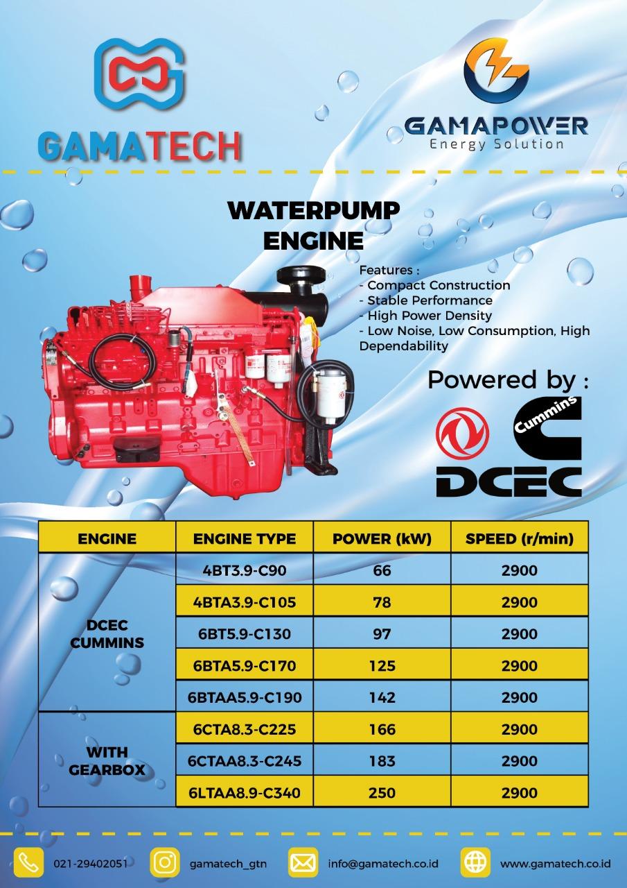 Waterpump Engine