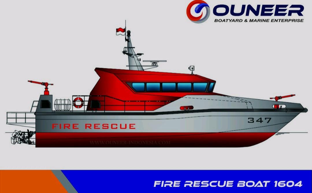 Kapal Pemadam/Fire Rescue Boat