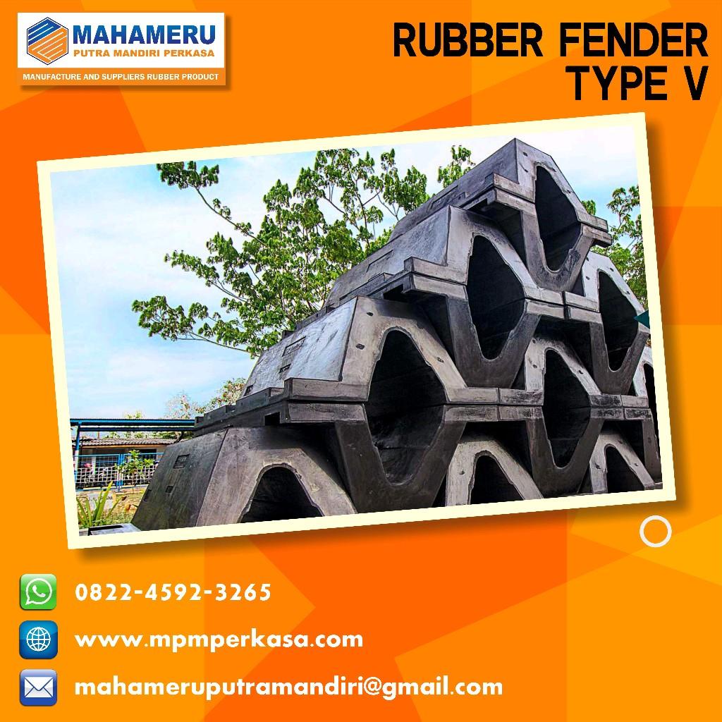 rubber fender v