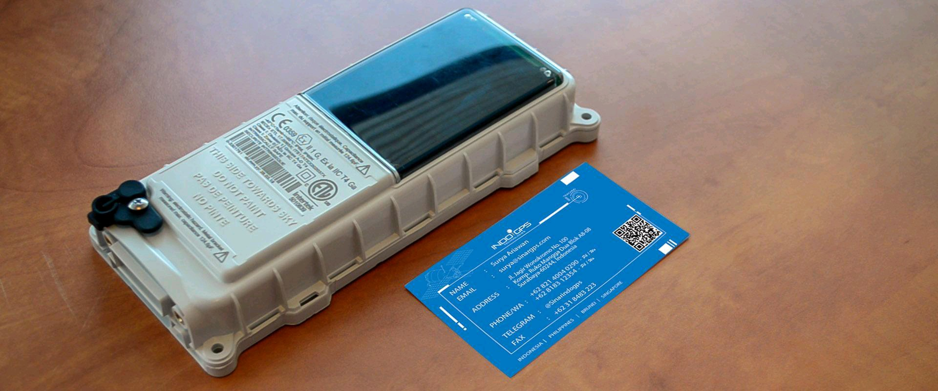 GPS Tracker Kapal Laut Data Satelit S108 (Smartone Solar)