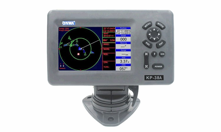 AIS Class B Transponder build in Chartplotter 6in1 ONWA KP38A