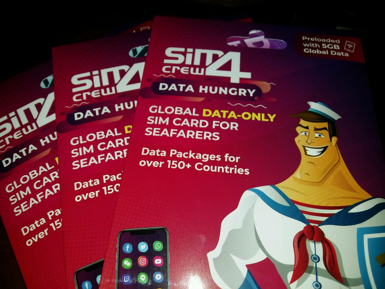 Sim4crew Data Hungry Free 5GB 120 days