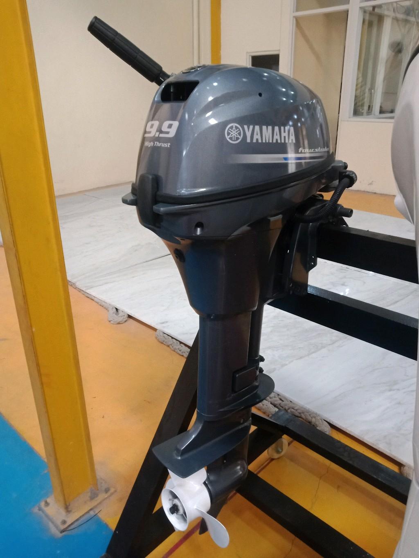 Mesin Boat Yamaha tipe FT 9.9 LMHL (4 stroke)